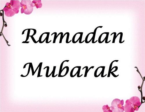 Ramazan Kareem Mubarak.