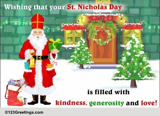 Send St. Nicholas Day Greetings!