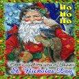 A Happy St Nicholas Day Card.