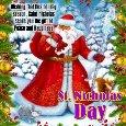 St. Nicholas Ecard.