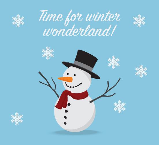 Winter Wonderland Fun.