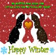 Home : Events : Winter  [Dec 21 - Mar 19] - A Winter Love Ecard For You.