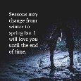 Love In The Winter Season.