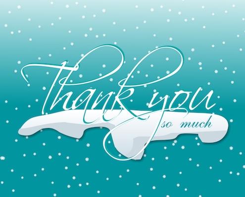 Winter Thanks!