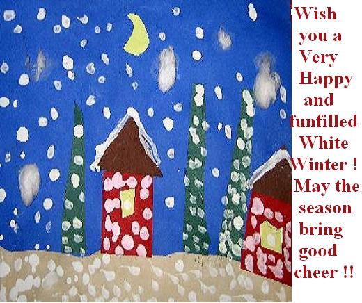 Wishes For A Fun Filled Winter.