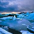 Frozen Shoreline.
