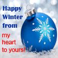 Happy Winter From My Heart To Yours!
