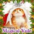 A Yuletide Card.