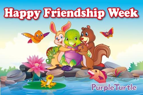 Happy Friendship Week.