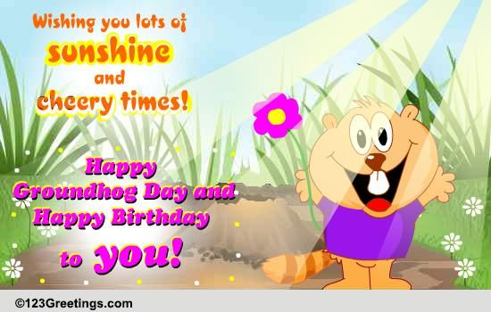 Groundhog day cards free groundhog day wishes greeting cards 123 groundhog day cards free groundhog day wishes greeting cards 123 greetings m4hsunfo Choice Image