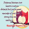 Home : Events : Heart to Heart Day 2018 [Feb 14] - Cute & Beautiful Ecard.