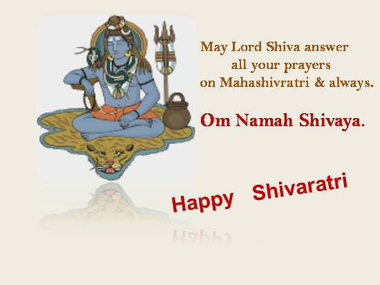 Blessings On Mahashivaratri.