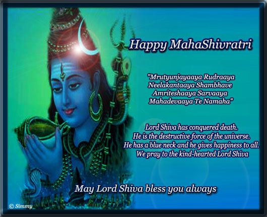 A Very Happy Mahashivaratri.