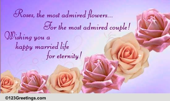Happy married life free world marriage day ecards greeting cards happy married life free world marriage day ecards greeting cards 123 greetings m4hsunfo