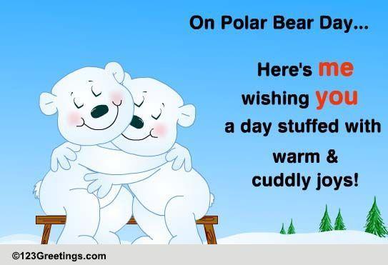 Send Polar Bear Day Ecards!