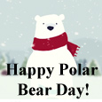 Have A Cute Polar Bear Day.