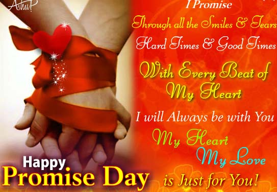Promise Of Love. Free Promise Day eCards, Greeting Cards ...