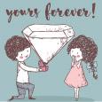 Be Mine Forever.