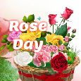 Home : Events : Rose Day 2021 [Feb 7] - A Rose Basket For You!