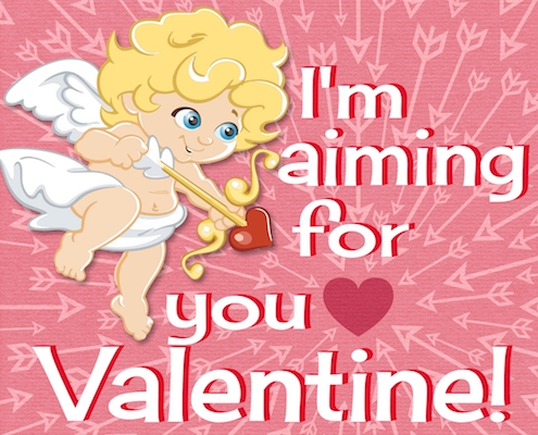 Cupid Is Aiming For You!