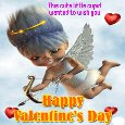 A Cute Cupid For Valentine's Day.