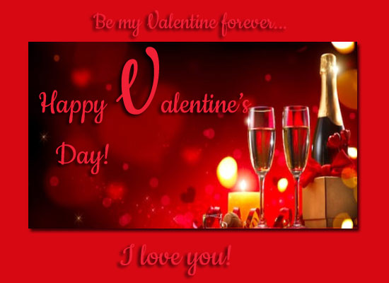 Be My Valentine Forever Dear...