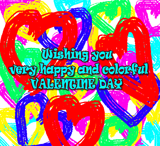 Colorful Valentine.