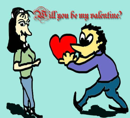 My Valentine.