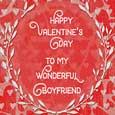 Valentine's Day To Boyfriend...