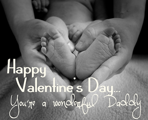 Valentine's Day Ecard For Daddy.