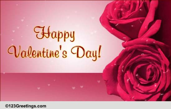 Valentine Special Rose Free Family ECards Greeting Cards