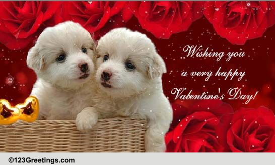 Happy Valentines Day To A Sister Free Family ECards Greeting Cards