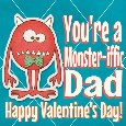 Monster-iffic Valentine For Dad!
