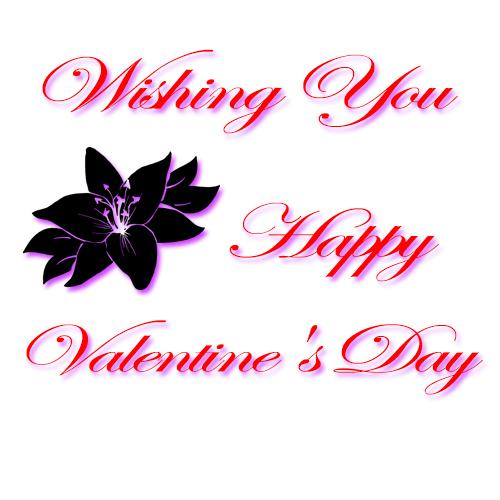 Flower To Wish You Valentine's Day.