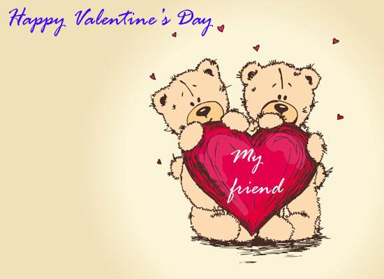 Valentine friends free friends ecards greeting cards 123 greetings valentine friends m4hsunfo