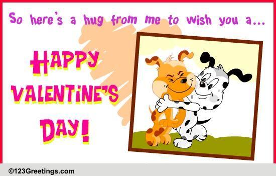 To My Best Friend On Valentine's Day! Free Friends eCards ...