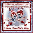 Valentine'S Day Snowflakes.