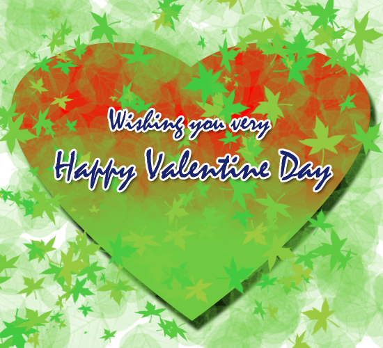 Green Valentine Wish.