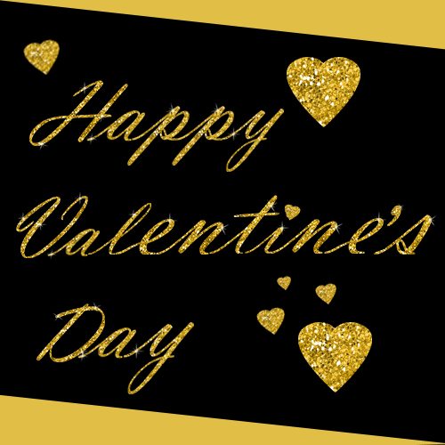 Glittering Valentines Day Ecard Free Happy Valentines Day – 123 Greetings Valentines Day Cards