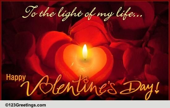 A Romantic Valentines Day Wish Free Happy Valentines