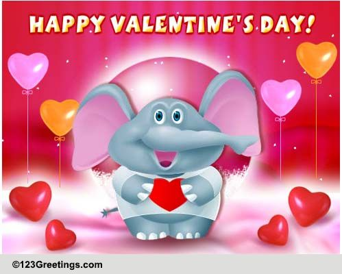 Valentines Day Hugs Free Happy Valentines Day ECards