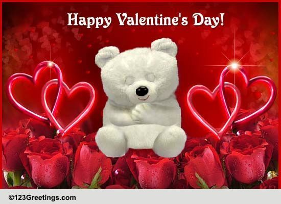 Valentines Day Cards Free Valentines Day Wishes Greeting Cards – Card for Valentine Day