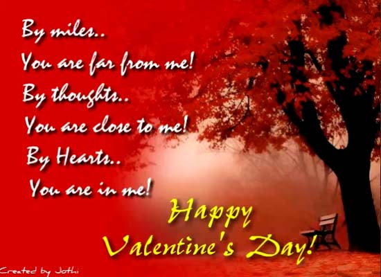 You Are In My Heart Free Happy Valentines Day eCards Greeting – Beautiful Valentine Cards