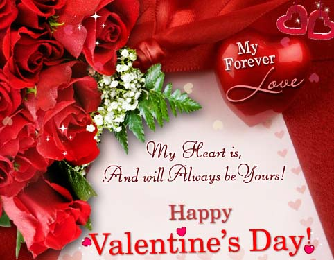 My heart will always be yours free happy valentines day ecards free happy valentines day ecards 123 greetings m4hsunfo