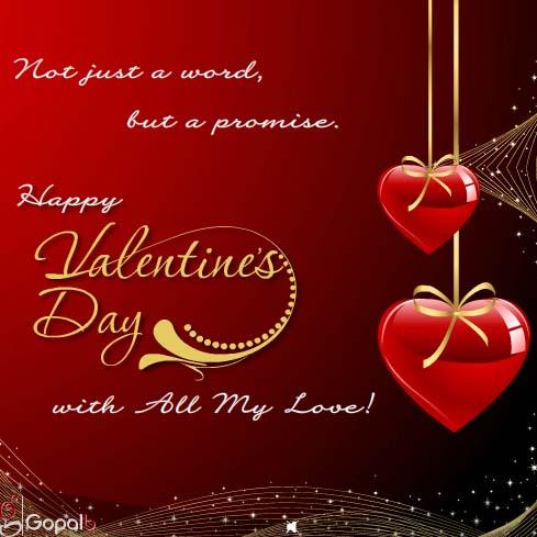 Today, Tomorrow And Always... Free Happy Valentine's Day ...