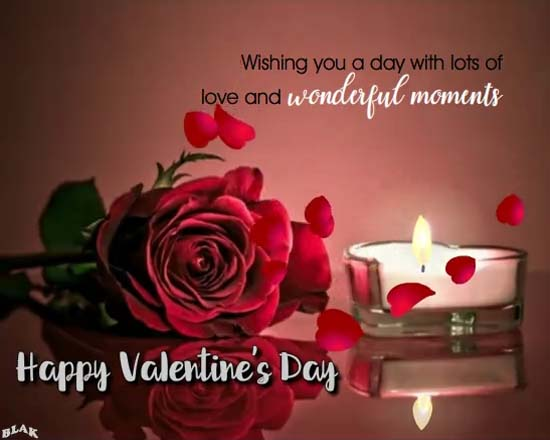 Love And Wonderful Moments Free Happy Valentines Day