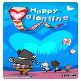 Happy Valentine Kite & Tidom.