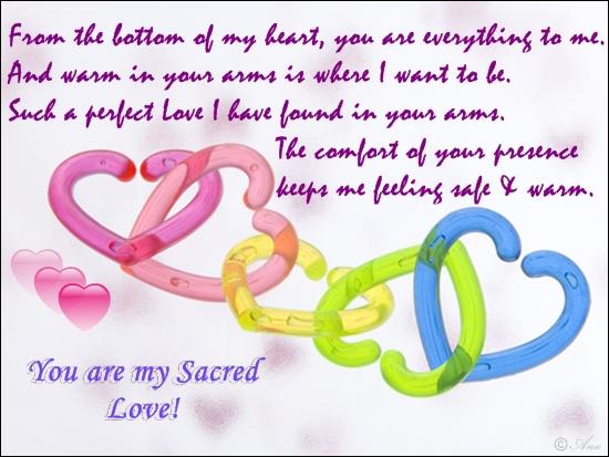 Sacred Love.