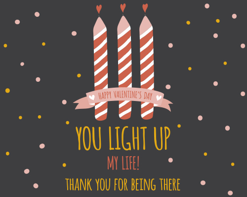 You Light Up My Life Free Thank You Ecards Greeting Cards 123