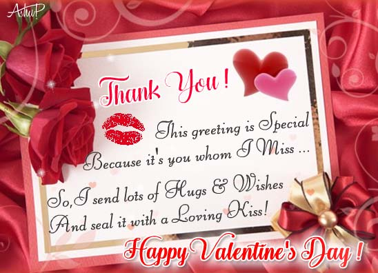 Thanks With Hugs & Kiss. Free Thank You eCards, Greeting Cards  123 Greetings